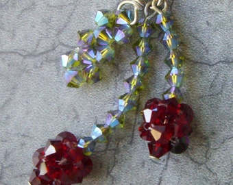 Swarovski Crystal CHERRIES Necklace