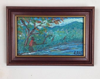 Jamaica Beautiful Landscape acrylic painting