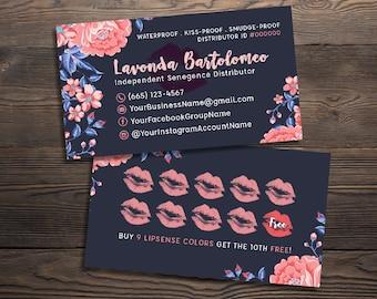 senegence business cards