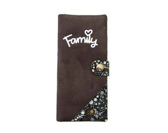 To order - protects family effervescent bubbles pattern cotton and suede