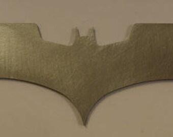 Exact replica steel Batarang Christopher Nolan The Dark Knight style