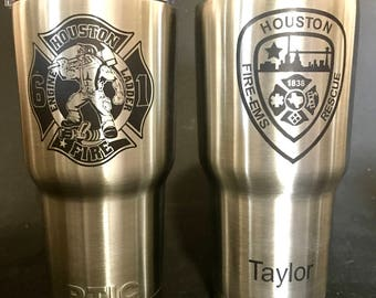 LASER Marked Personalized  RTIC 20oz RTIC Tumbler,Perfect for anytime gift