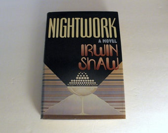 1975 NIGHTWORKS by Irwin Shaw HCDJ Hardcover w Dust Jacket 1st edition 1st printing