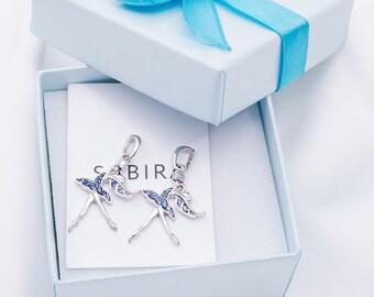 Swan Lake Pendant-Ballet Gift-Ballerina Gift-Art Pendant-Dancer Pendant-Odette Pendant-Dancer Gift