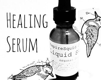 Organic Acne Scar Treatment, Acne Scars, Hyperpigmentation Serum, Hyperpigmentation Oil, Natural Acne Scar Serum, Organic Healing Serum