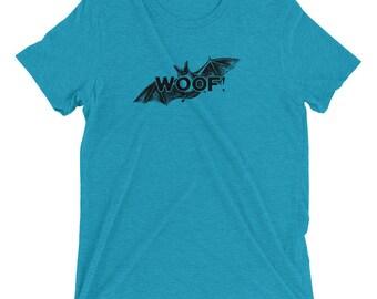 Woof! Bat - Short sleeve t-shirt