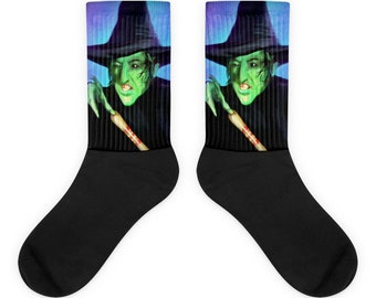 The Wicked Witch: The Wizard Of Oz Socks