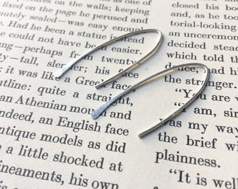 Minimalist Sterling Silver Earrings
