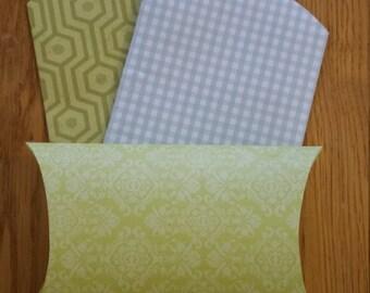 Set of Three Pillow Boxes