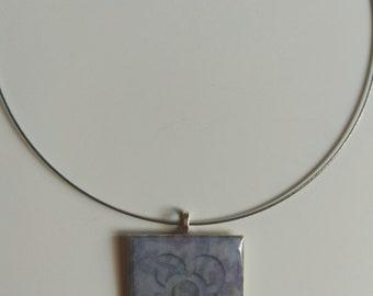"""Modernist Necklace """"Panot Flor de Barcelona"""""""