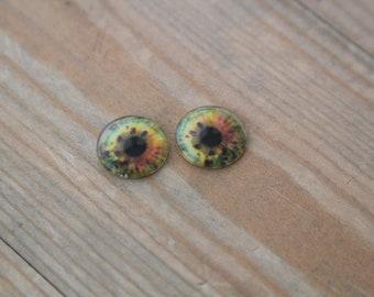 "Availible handmade 12""Blythe  doll glass custom eye chips"