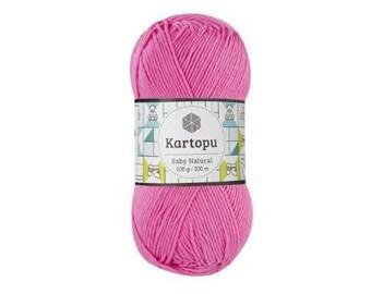 Kartopu BABY NATURAL Crochet yarn Yarn for knitting Hypoallergenic yarn Summer yarn Hand knit yarn Color choice Cotton-Acrylic Soft yarn