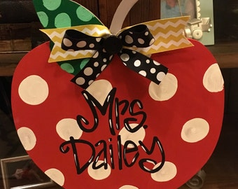 Teacher Name Plate - Personalized