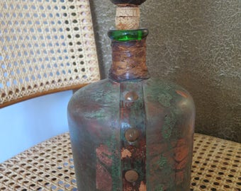 Old bottle vintage\ decoration