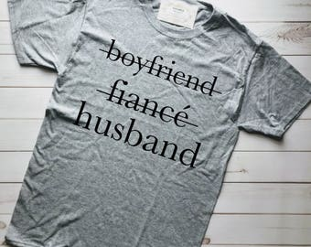MARRIED AF, Fiance Gift For Him, Just Married Shirts, Fiance Shirt, Married Af Shirt, Honeymoon Shirts, Husband Shirt, Just Married Shirt