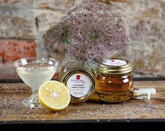 Lavender Simple Syrup 8oz