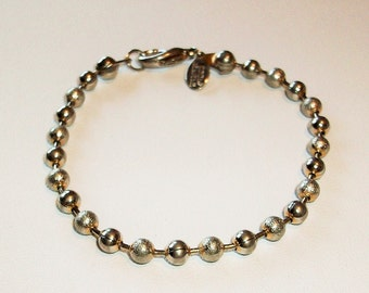 Stainless Ball Chain   Bracelet Classic Simple  Free Shipping in USA