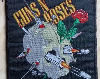 Guns n roses vintage patch 1988