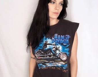Vintage Harley Davidson Tank