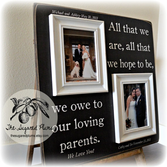 Parents Thank You Wedding Gift: Parents Thank You Gift Parents Thank You Wedding Gift Mother