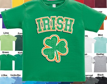 Irish - Shamrock - T-Shirt - Boys / Girls / Infant / Toddler / Youth sizes