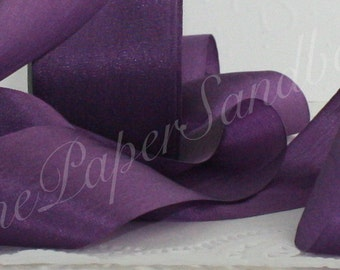 Purple Silk Ribbon, Pantone Radiant Orchid