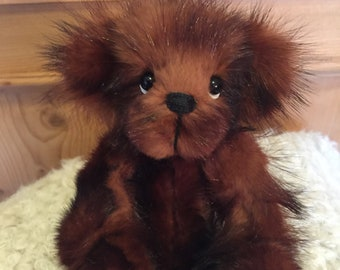 ROGER: a handmade jointed teddy bear from Jazzbears