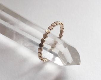 Petite dot ring