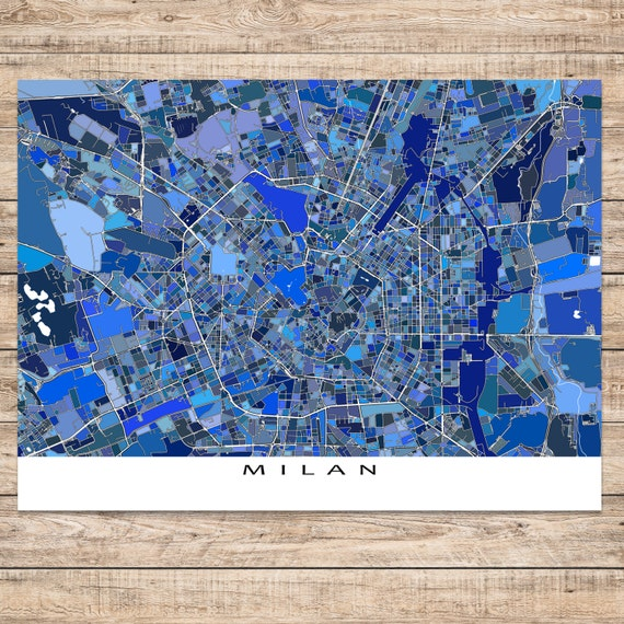 Milan italy milan map art print italian city maps travel milan italy milan map art print italian city maps travel map milano gumiabroncs Image collections