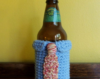 Power Tie Beer Cozy