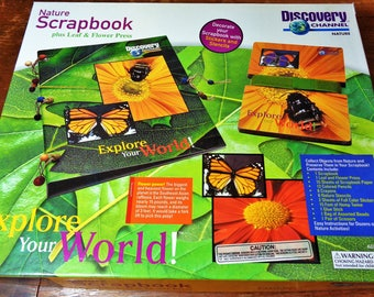 Discovery Channel Nature Scrapbook Plus Leaf & Flower Press