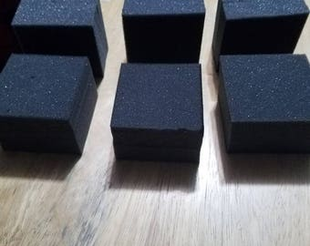 SIX cubes of 3x3x2 opencell foam for arrowheads