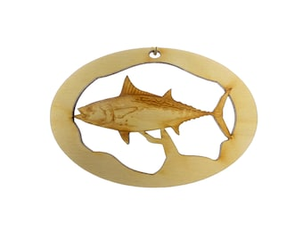 Fishing Ornament, Albacore - Fishing Ornaments - Fishing Gifts - Fishing Gift - Gift for Fisherman - False Albacore - Personalized Free