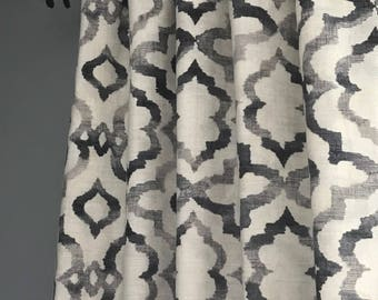 drapes sensational gray best treatments finesse curtains for modern rods gold curtain grommet panels window