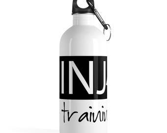 Ninja In Training Stainless Steel Water Bottle