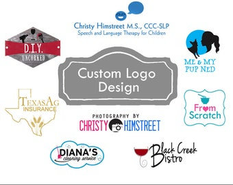Custom Logo Design / Small Business Logo /