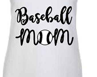 Swing Batter Batter / Baseball mom Tank top or Shirt