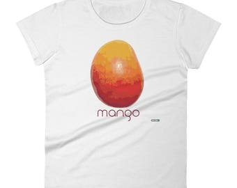 Mango T-Shirt - Womens - Foodie - Chef - Organic