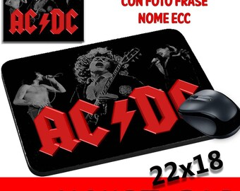 Mouse pad Persobalizzabile AC DC