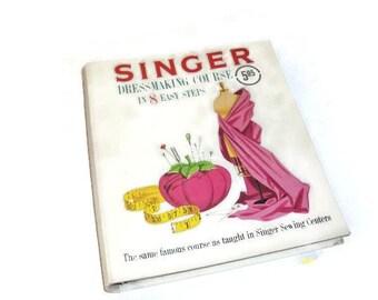 Singer Dressmaking Course Book Vintage 1961 | Dressmaking In 8 Eight Easy Steps