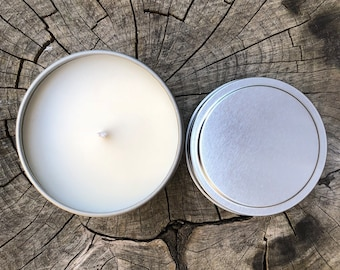 Vanilla Scented Candle, Handmade Soy Candle