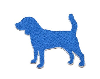 Beagle Iron On  Applique Embroidered Patches Machine Embroidery Design for dog-lover
