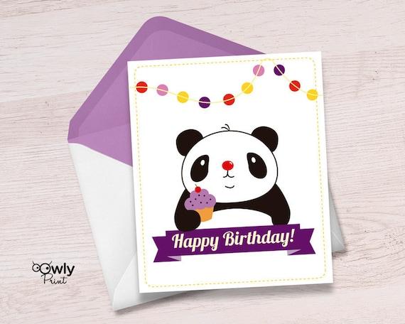 Printable panda happy birthday card ready to print panda printable panda happy birthday card ready to print panda happy birthday card pdf panda happy birthday print bookmarktalkfo Choice Image