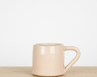 Blush Pink Espresso Cup     Pottery Mug     Tea Cup     Espresso Cups     Wedding favors     Thank you gift     Party favors    Gift for her