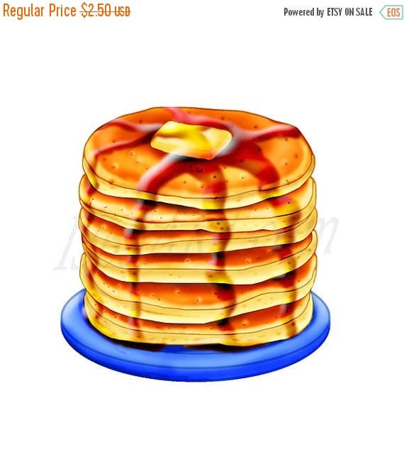 50 off pancake clipart pancake clip art breakfast clipart rh etsy com pancake clip art borders pancake clip art banners free
