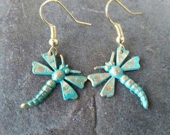 Cute Dragonfly fashion earrings