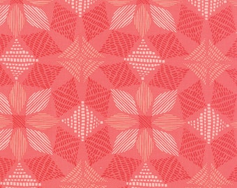 Canyon Fabric by the Yard, Kate Spain Fabric, Moda Fabrics, Bright Pink Quilt Fabric, Cotton Fabric, 27224 16