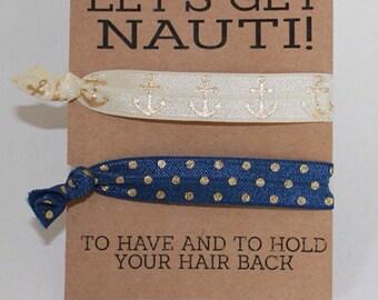 Bachelorette hair ties