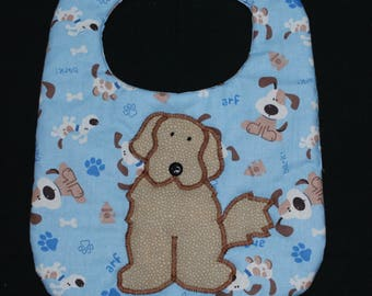 Puppy Baby Bib