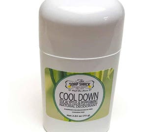 Natural Deodorant (Stick, 2.65 oz.) - Artisan made by The Soap Shack